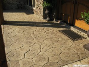 PATTERNED CONCRETE DRIVEWAYS